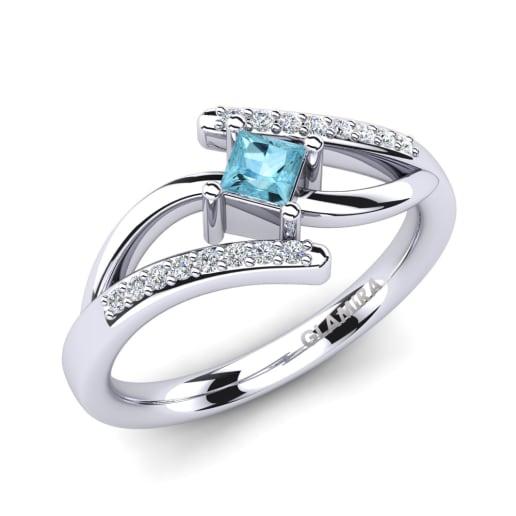 Get Aquamarine Engagement Rings