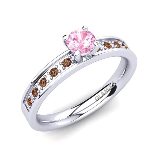 Encomende Safira Rosa - Anéis de Noivado   GLAMIRA.com.br 74ab5ace44