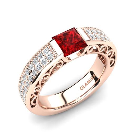 Kup Swarovski Czerwone Pierścionki Zaręczynowe Glamirapl