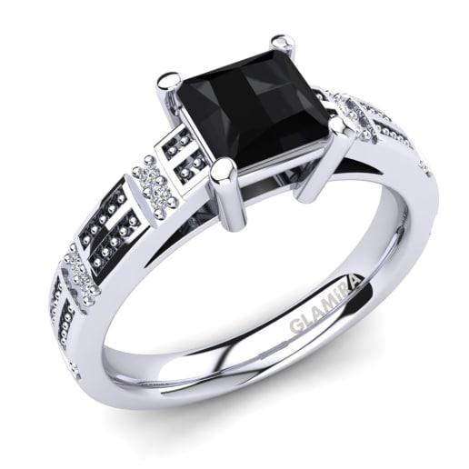 Kup Czarny Diament Diamentowe Pierścionki Glamirapl