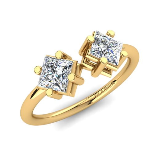 GLAMIRA Knogle Ring Thira