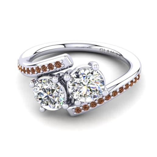 GLAMIRA Gyűrű Valeska