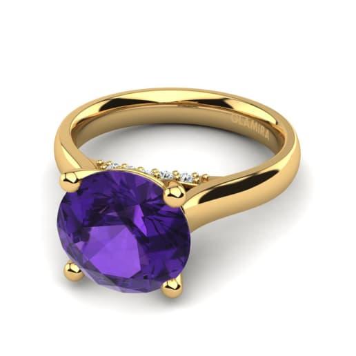 GLAMIRA Žiedas Violet 3.0 crt