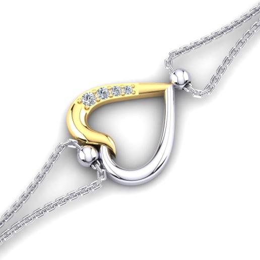 GLAMIRA Bracelet Tanel