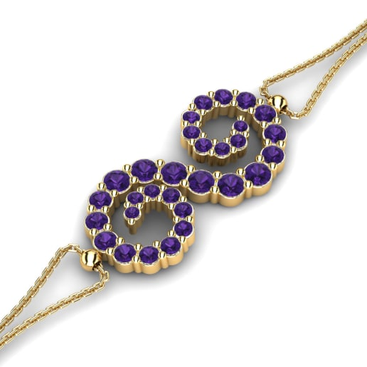 GLAMIRA Bracelet Thistle
