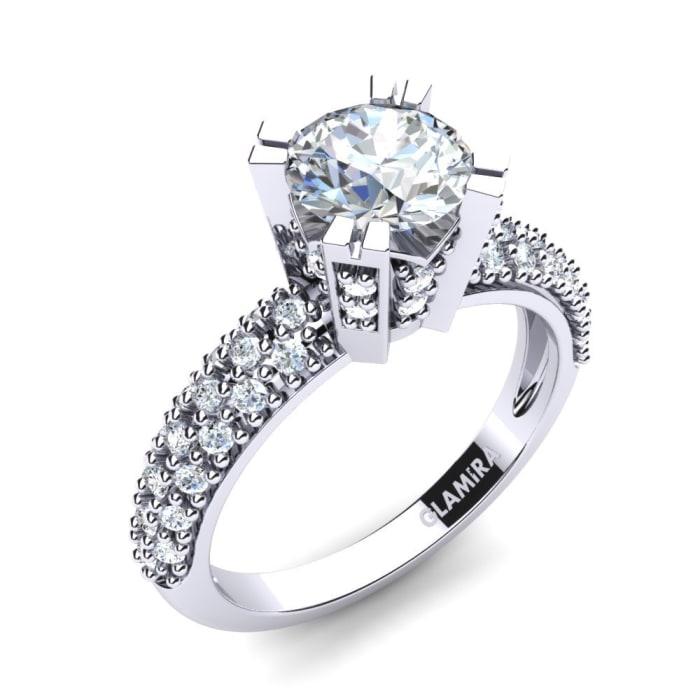 GLAMIRA Brudset Swanky Ring A