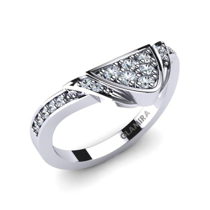 GLAMIRA Conjunto Nupcial Splendiferous Ring B