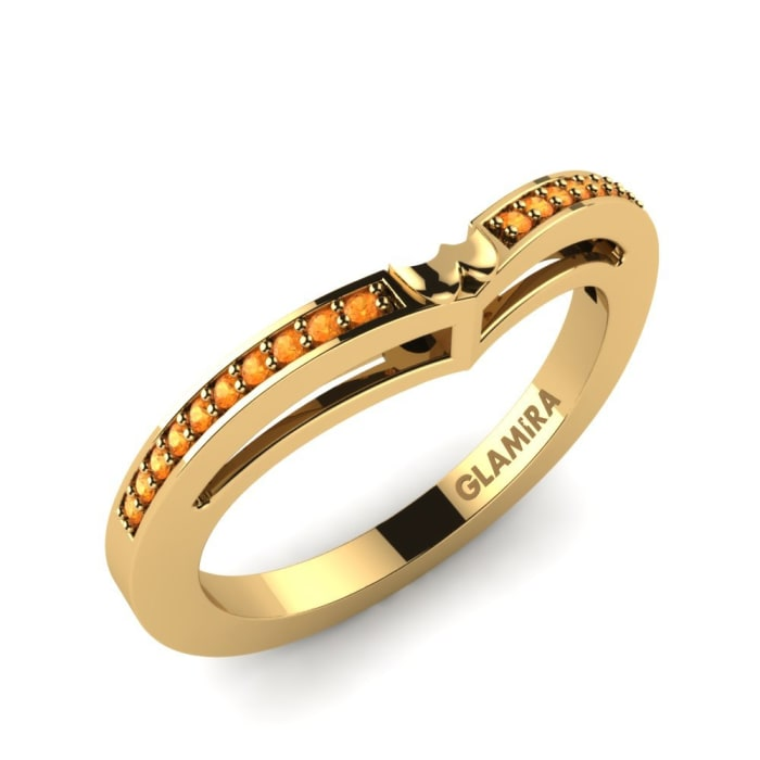 GLAMIRA Bridal Set Clover Ring B