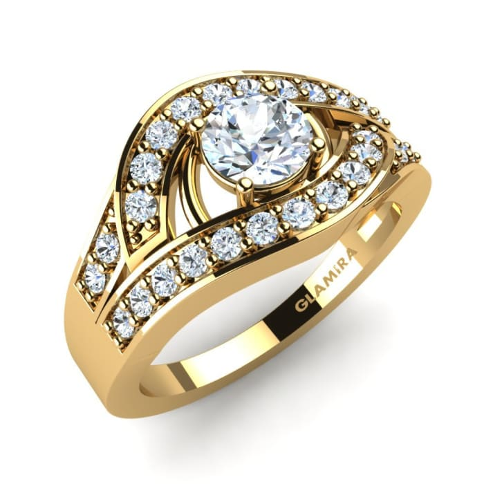 GLAMIRA Brudset Flamboyant Ring A