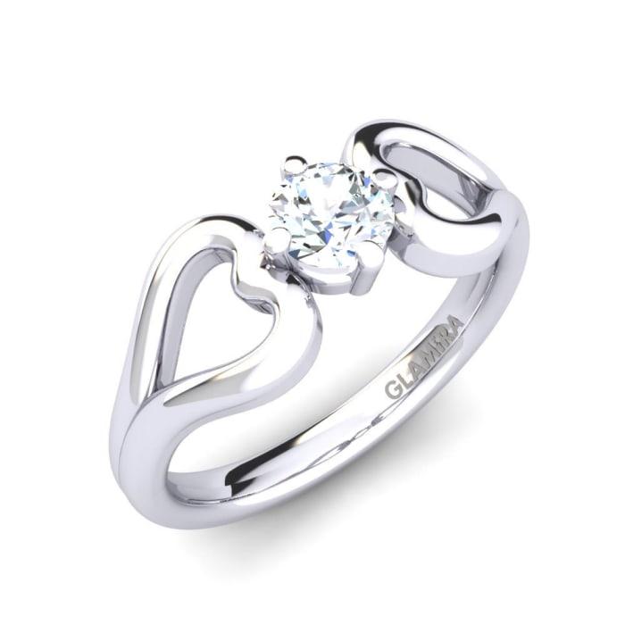 GLAMIRA Ring Adima 0.35 crt
