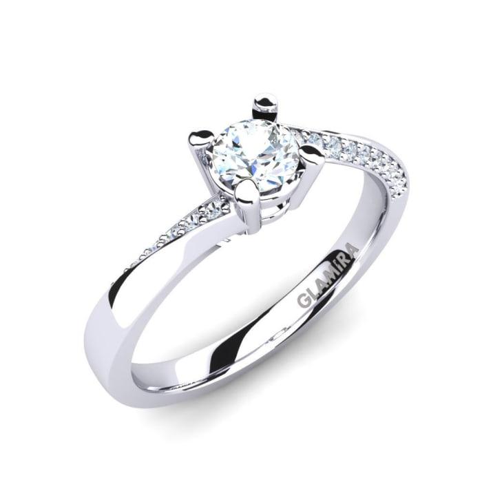 GLAMIRA Ring Abella 0.5 crt