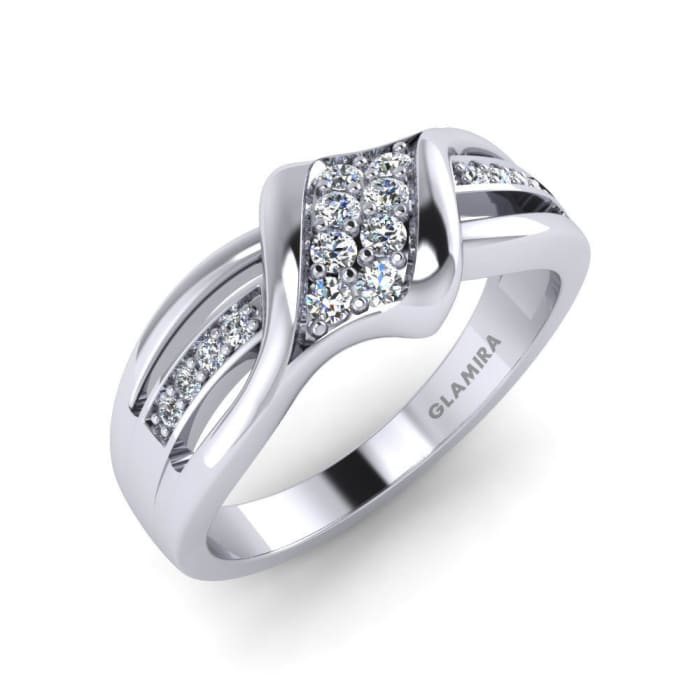GLAMIRA Diamonds Ring Vivien