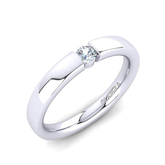 GLAMIRA Ring Alexis 0.1crt