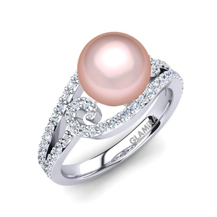 GLAMIRA Ring Oyster Ø8 mm