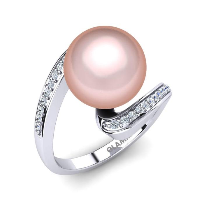 GLAMIRA Ring Perlina Ø10 mm
