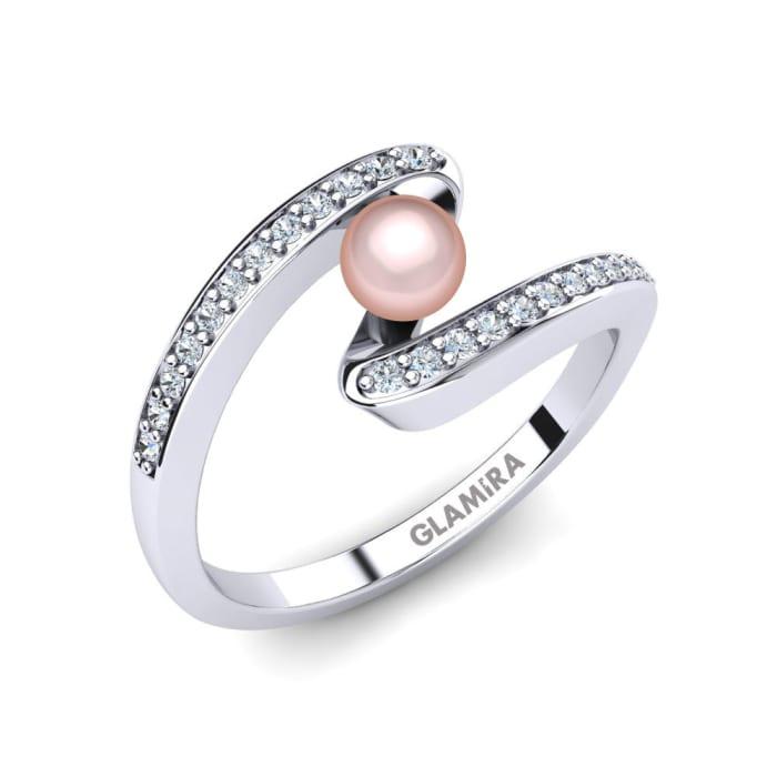 GLAMIRA Ring Perlina Ø4 mm