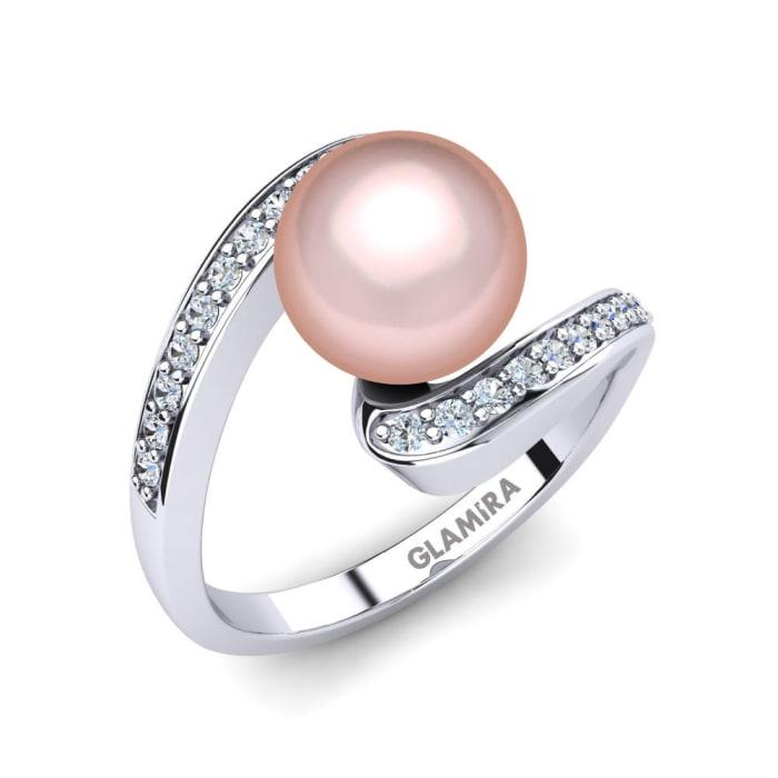 GLAMIRA Ring Perlina Ø8 mm