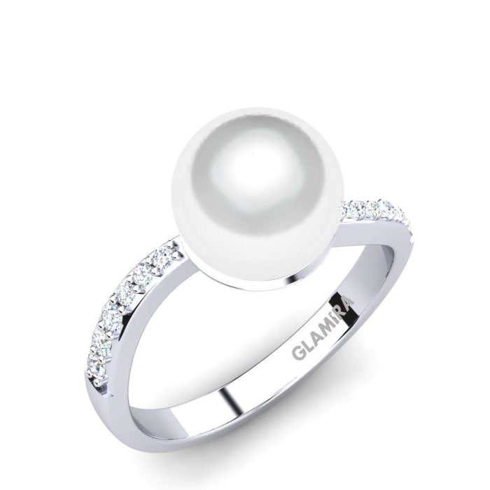 GLAMIRA Ring Shell Ø8 mm