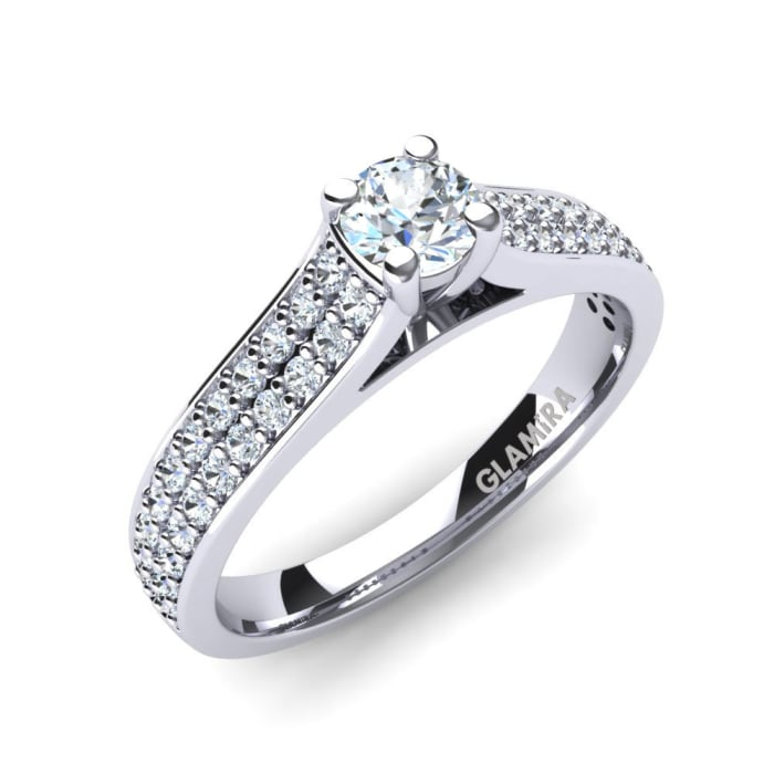 GLAMIRA Ring Arella 0.25 crt