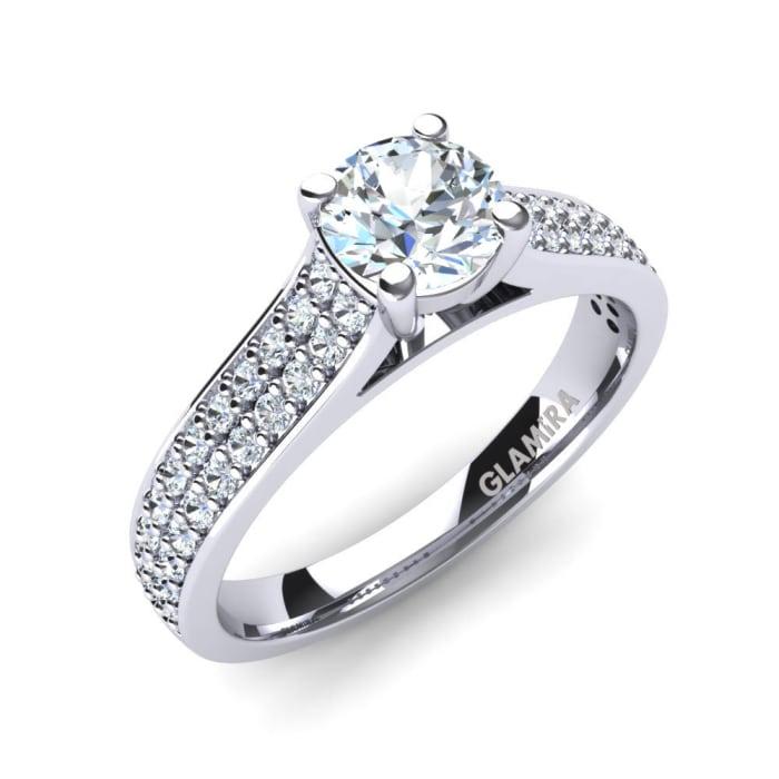 GLAMIRA Ring Arella 0.5 crt