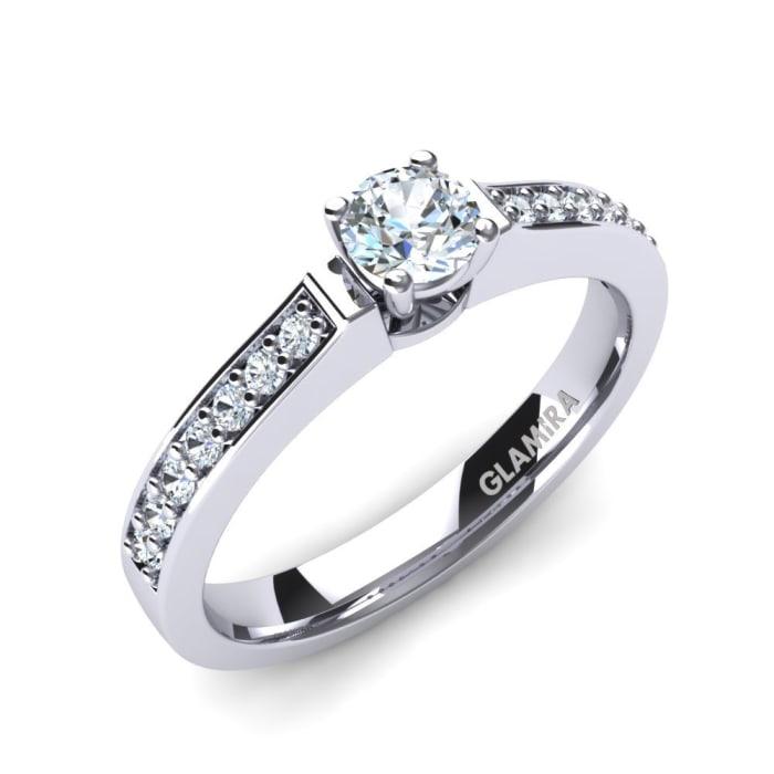 GLAMIRA Ring Ruby 0.25 crt