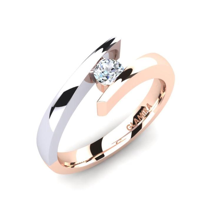 GLAMIRA Ring Rosita 0.16 crt