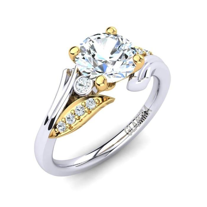 GLAMIRA Ring Agnella 1.0 crt