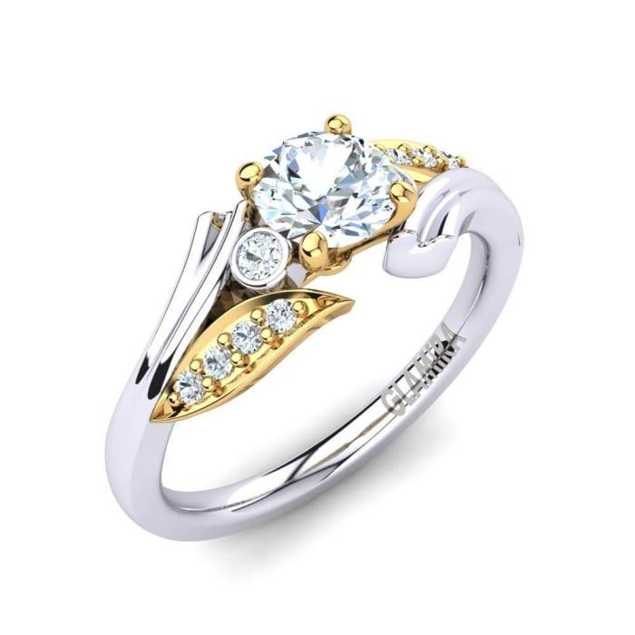GLAMIRA Ring Agnella 0.5 crt
