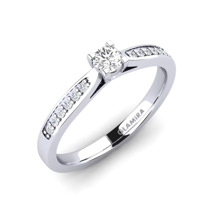 GLAMIRA Ring Alina 0.16 crt