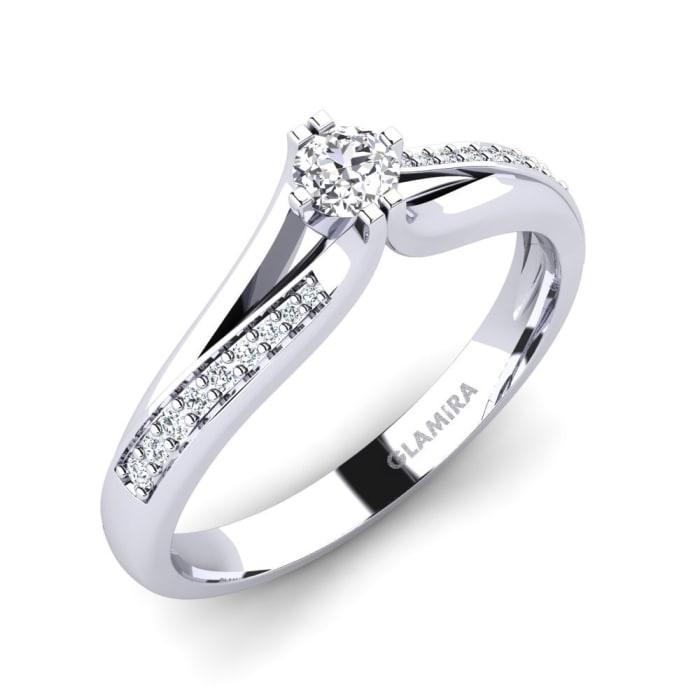 GLAMIRA Ring Alisha 0.16 crt