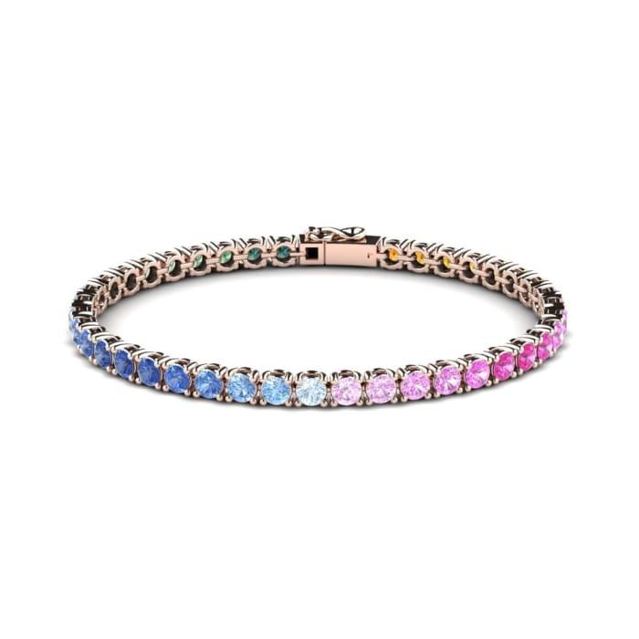 GLAMIRA Bracelet Alpha 16 cm