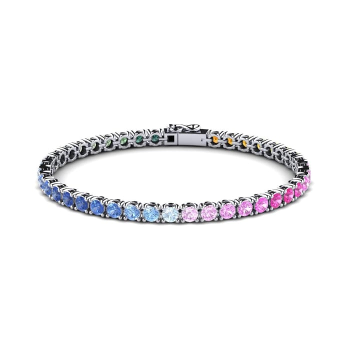 GLAMIRA Bracelet Alpha 20 cm