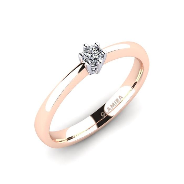 GLAMIRA Ring Belva 0.1 crt