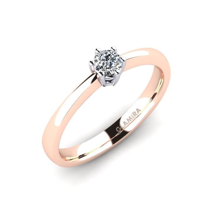 GLAMIRA Ring Belva 0.16 crt