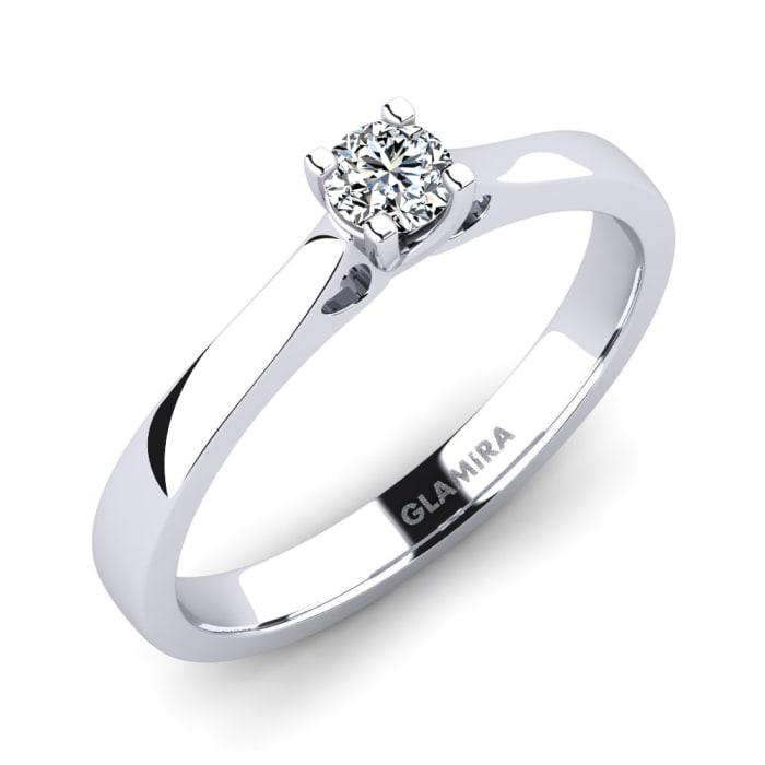 GLAMIRA Ring Céline 0.16 crt
