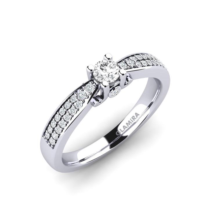 GLAMIRA Ring Donielle 0.16 crt