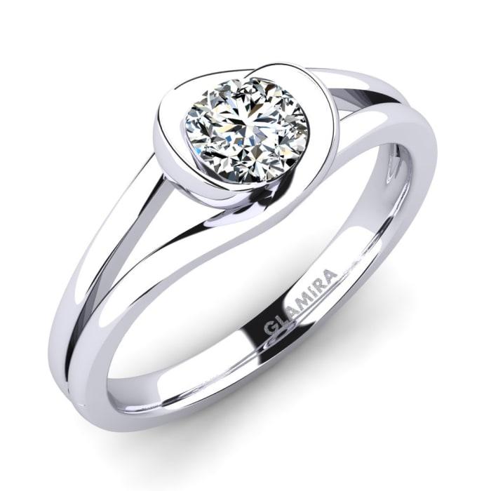 GLAMIRA Ring Donisha 0.5 crt