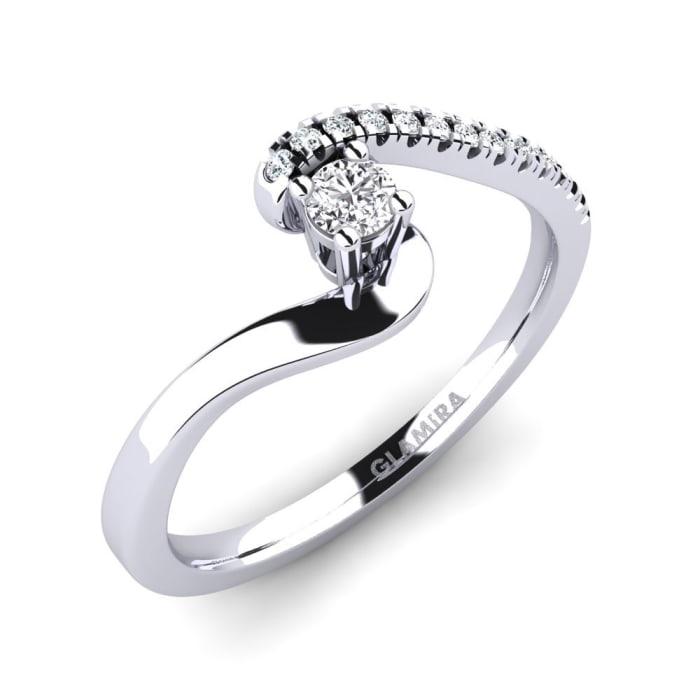 GLAMIRA Ring Doreen 0.1 crt