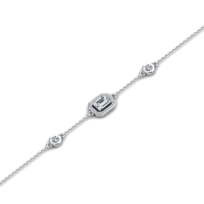 GLAMIRA Bracelet Dwana - Emerald