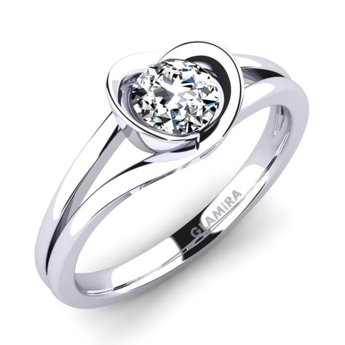 GLAMIRA Ring Freesia 0.5 crt