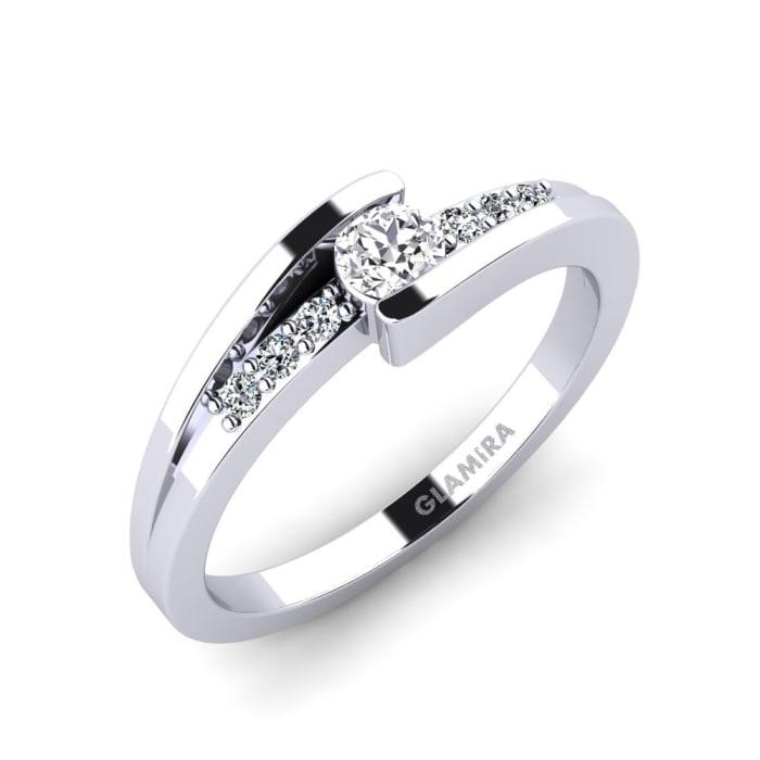 GLAMIRA Ring Gredel 0.16 crt