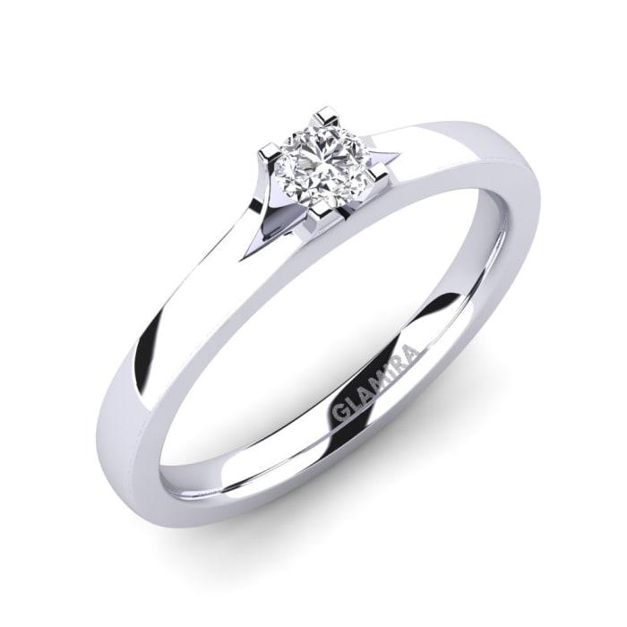 GLAMIRA Ring Henrietta 0.16crt