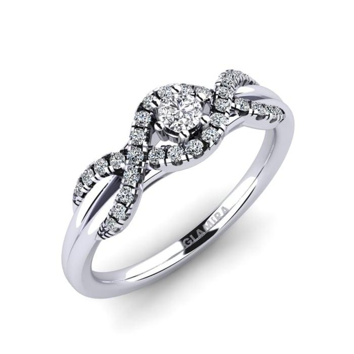 GLAMIRA Ring Jilessa 0.1 crt