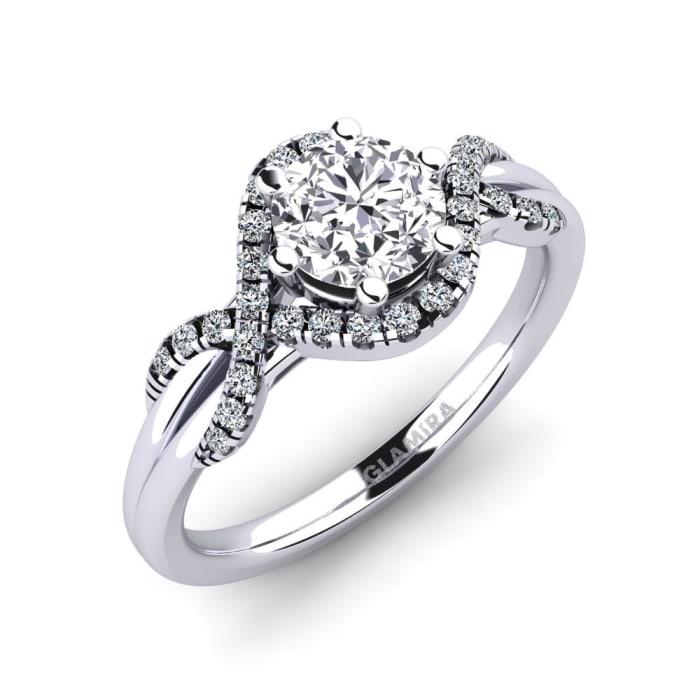 GLAMIRA Ring Jilessa 0.8 crt