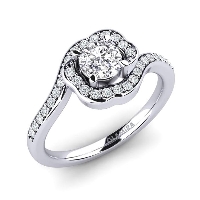 GLAMIRA Ring Jocelyn 0.5 crt