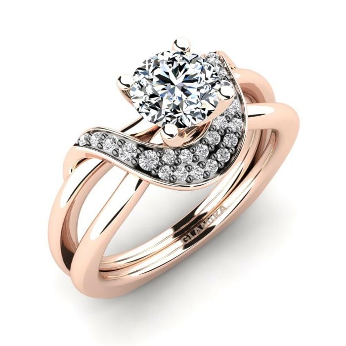 GLAMIRA Ring Lesia 0.8 crt