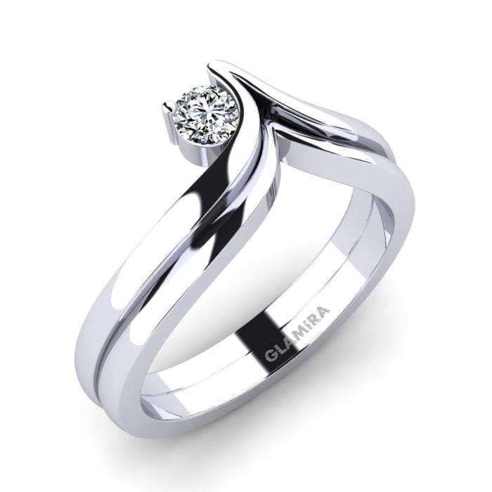 GLAMIRA Ring Lindsey 0.16 crt