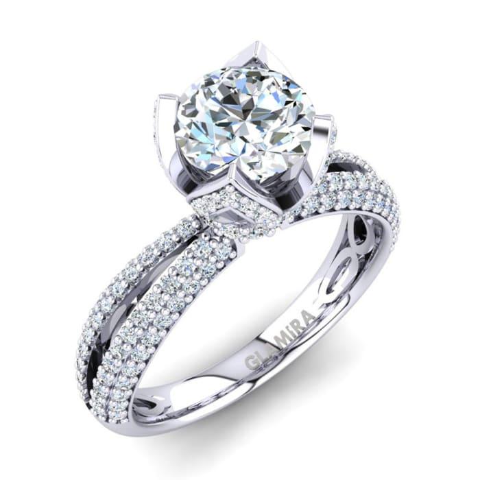 GLAMIRA Ring Queen 1.0 crt