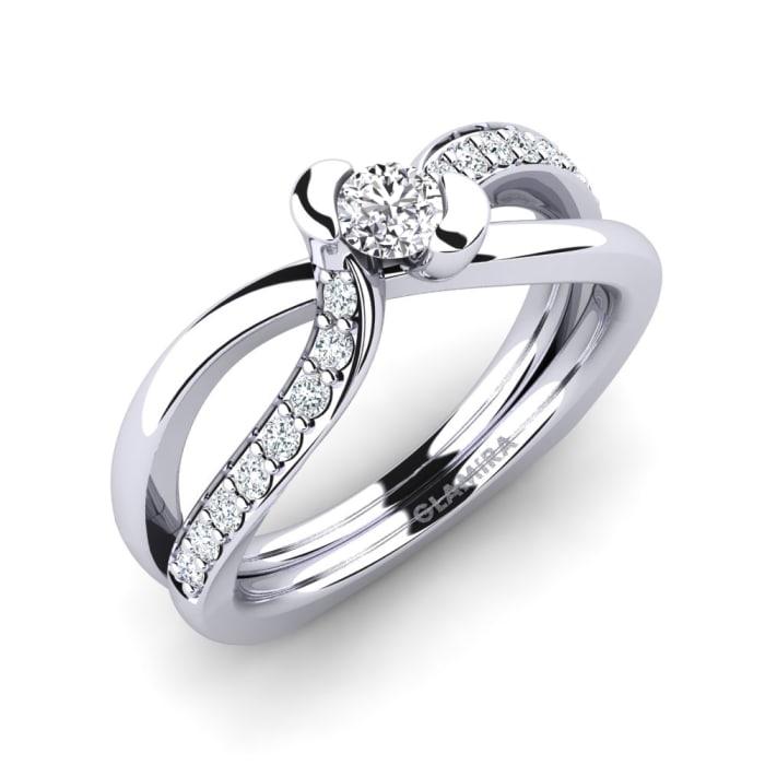 GLAMIRA Ring Nery 0.16 crt