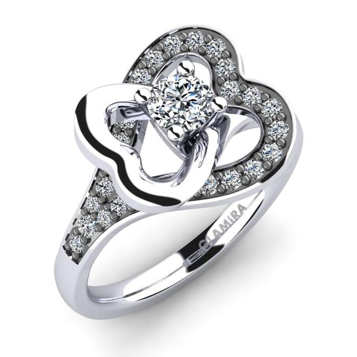 GLAMIRA Ring Olevia 0.25 crt